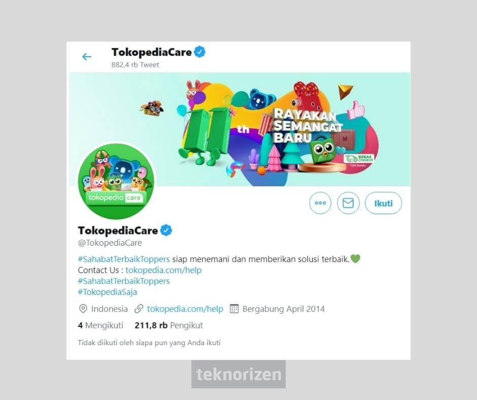 customer service tokopedia