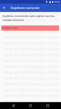 android 7.1.1 numara engelleme,general mobile android one numara engelleme nasıl olur,general mobile gm5 plus numara engelleme,numara engelleme kaldırma