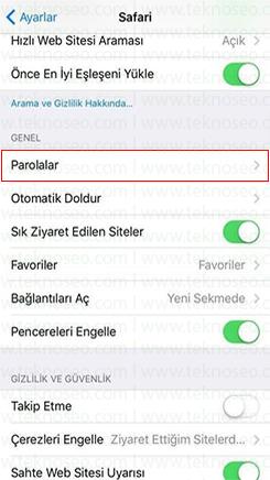 iphone safari kayıtlı şifreleri silme,iphone safari kayıtlı şifreleri görme,iphone kayıtlı mail şifreleri görme,ios 11 kayıtlı şifreler