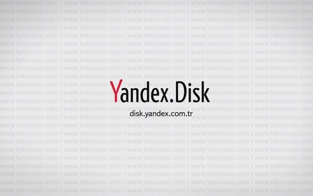 yandex,yandex disk,dosya paylaşımı,bulut depolama