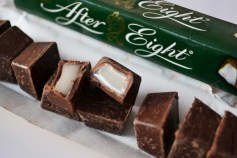 Chocolate y menta