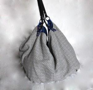 borsa di tessuto fatta