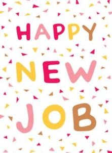 Happy new job