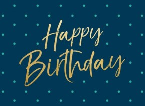 Felicitaties verjaardag