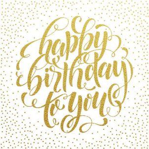 Van harte gefeliciteerd met je verjaardag