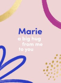 Kaart a big hug from me to you