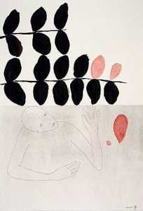 KitLing Jordens, tekening, Onder De Grond, 2001