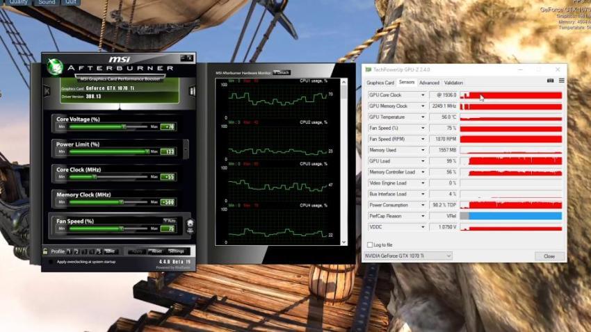 MSI GTX 1070 Ti GamingX