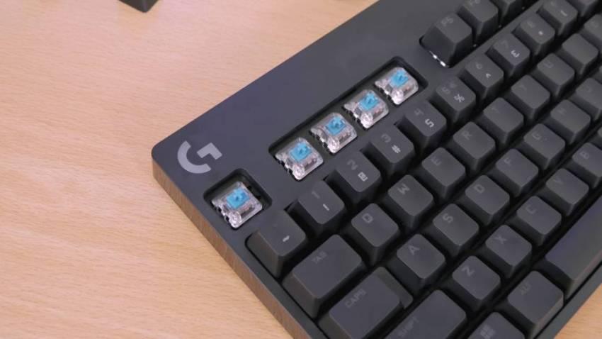 Logitech GX Blue Clicky