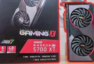 MSI RX 5700 XT Gaming X 8G