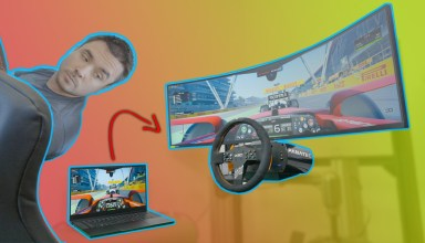 Sim racing Razer Blade 15 2021
