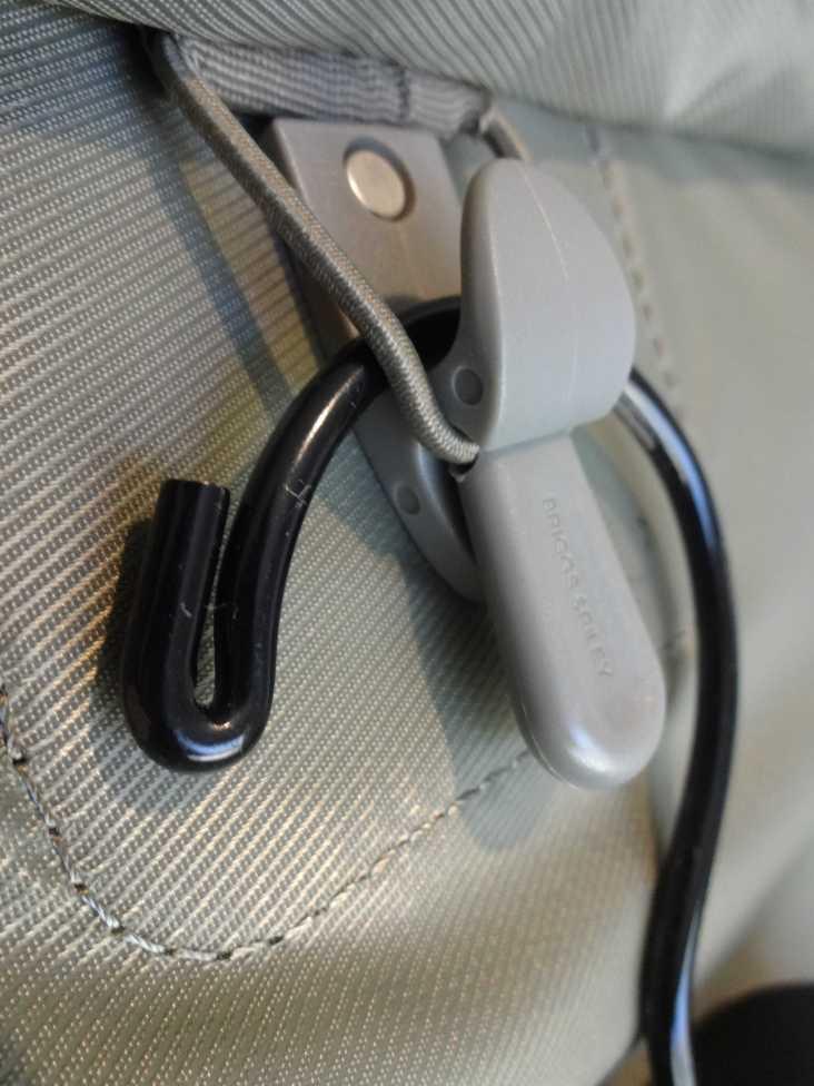 Briggs & Riley Baseline International Wide Built-In Suiter Hanger Hook