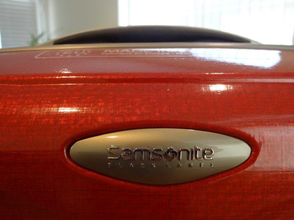 Samsonite Firelite Chili Red Black Label