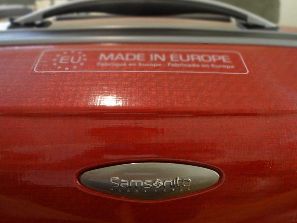 Samsonite Firelite Made In Europe