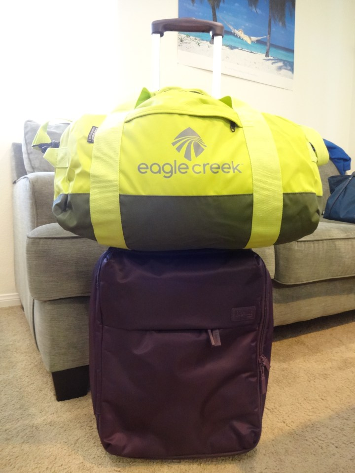 Eagle Creek No Matter What Duffel Small - Panel Front