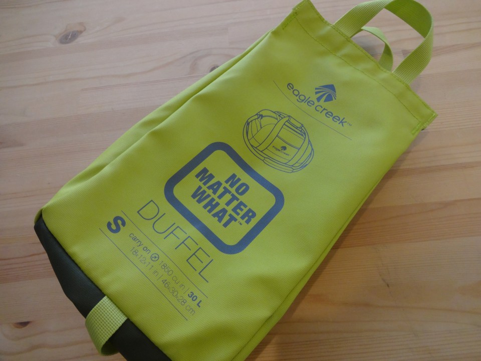 Eagle Creek No Matter What Duffel Small - Pouch Side