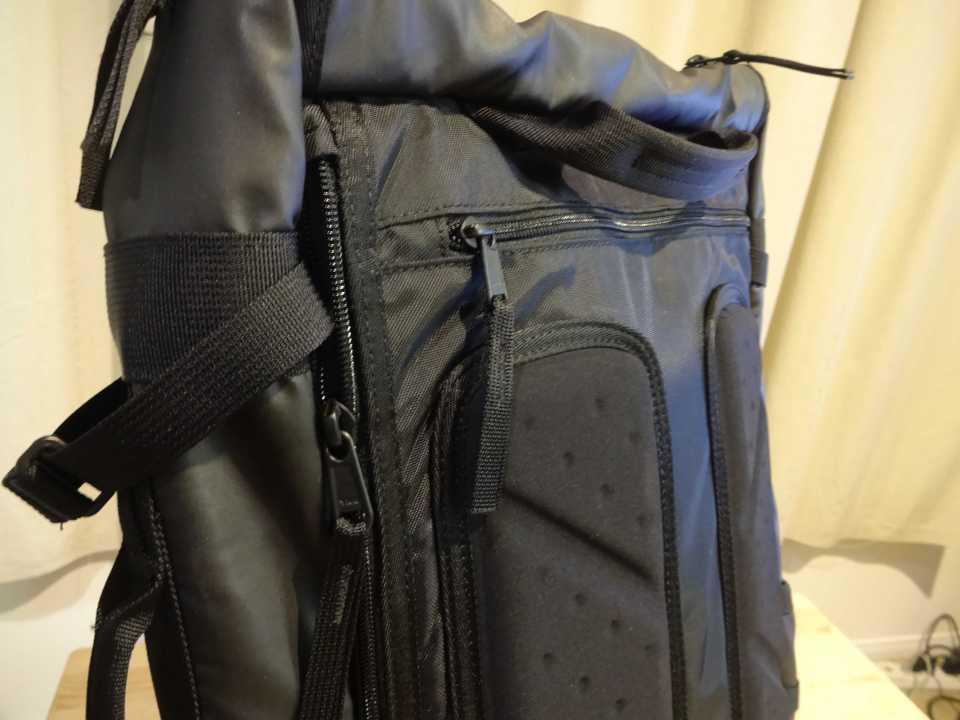 Timbuk2 Aviator Convertible Travel Backpack 2015 Back Padding