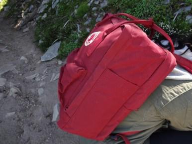 """Fjallraven Kanken 15"""" Laptop backpack - Side"""