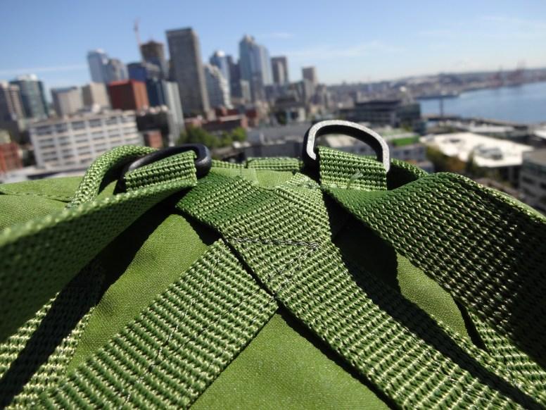 Fjallraven Kanken Mini Leaf Green - X-mount Shoulder Strap