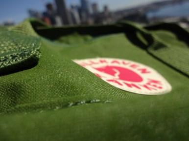 Fjallraven Kanken Mini Leaf Green - Vinylon F