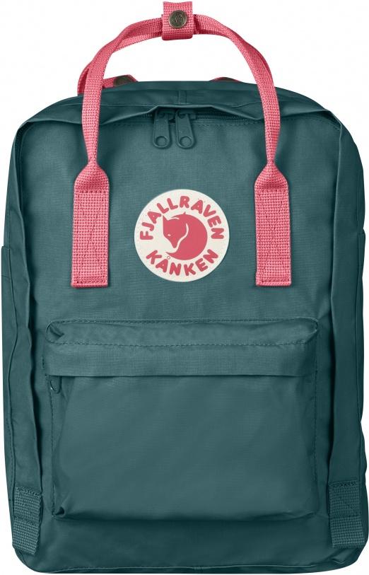 "Fjällräven Kånken Laptop 13"" - Frost Green-Peach Pink"
