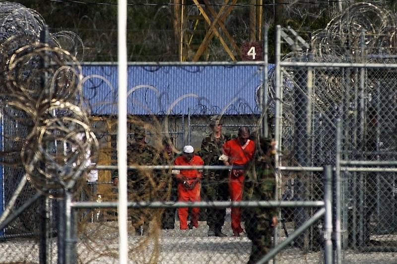 La cárcel de la base de Guantánamo, Cuba, llegó a tener más de 700 detenidos de los 40 que tiene en la actualidad.