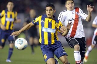 River derrotó a Rosario Central con angustia y se recuperó como local