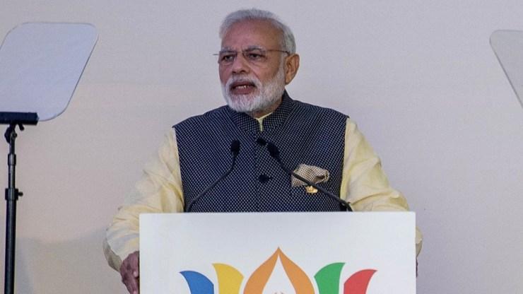 """Narendra Modi, instó a los líderes mundiales a tomar """"acciones concretas a gran velocidad"""""""
