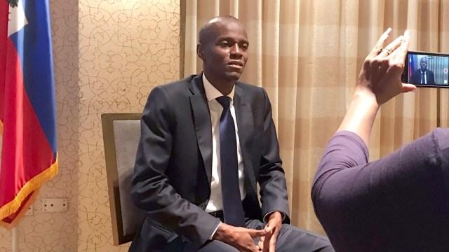 El presidente haitiano, Jovenel Moise, es el impulsor del referendum