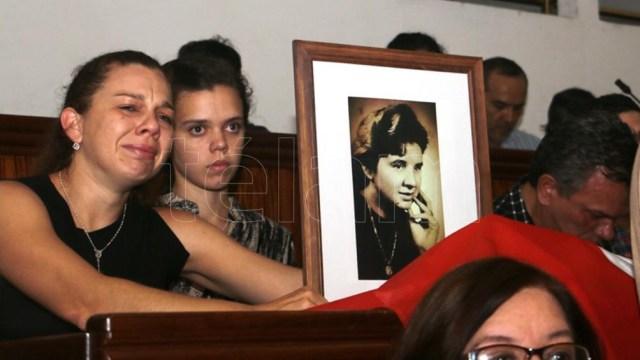 Familiares de ciudadanos uruguayos asesinados y desaparecidos en Argentina durante el Plan Cóndor de represión de las dictaduras regionales