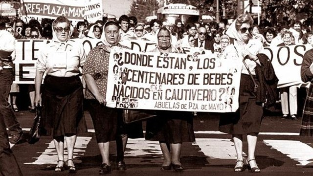 Las Madres, símbolo de la resistencia a la dictadura del Proceso Militar.