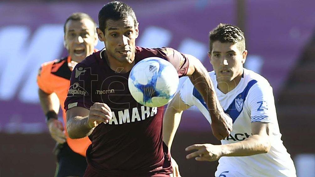 Pepe Sand, la carta goleadora del equipo granate que viene con la ventaja de haber vencido 1 a 0 a Vélez, y de visitante.