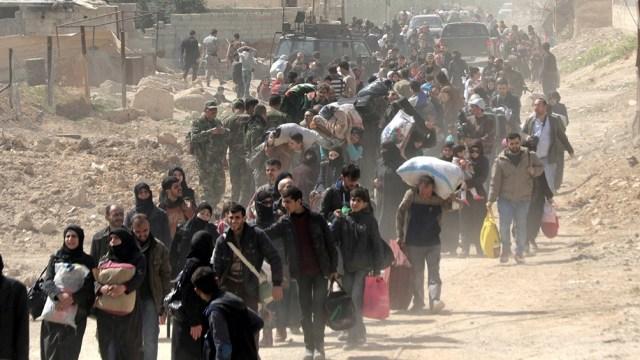 Tres cuartas partes de los desplazados tuvieron que abandonar sus casas
