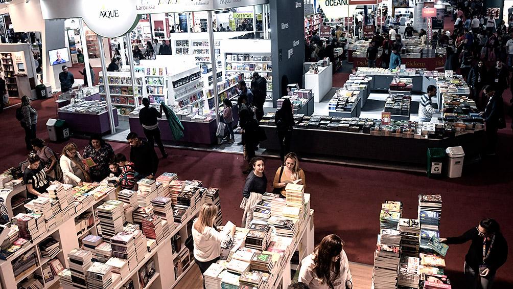 5af2ca442835b - Abre sus puertas la Feria del Libro de Buenos Aires