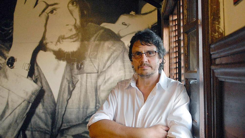 """Felipe Pigna es autor de """"La voz del gran jefe"""" (2014), una de las últimas y más completas biografía de San Martín."""