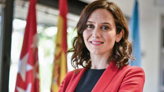 Isabel Díaz Ayuso del Partido Popular se posiciona como favorita