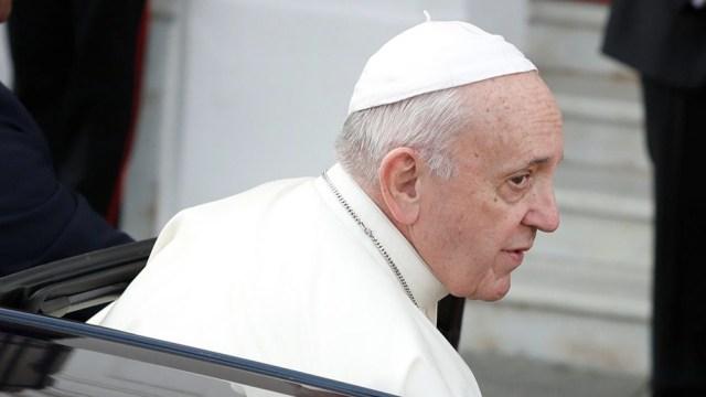 El Papa prosiguió hoy con su serie de catequesis sobre la pandemia