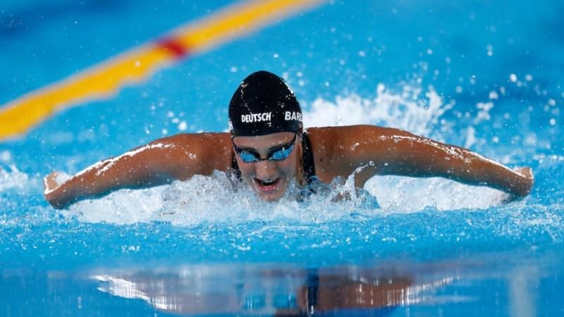 Virginia Bardach, otras de las figuras de la natación.