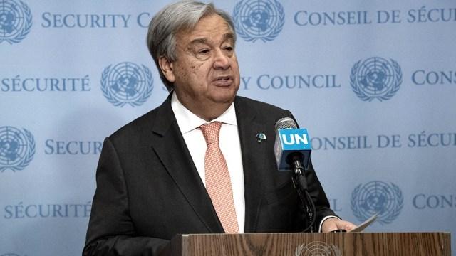 """Guterres llamó a reforzar """"la arquitectura de la deuda internacional para acabar con los letales ciclos de oleadas de deuda, de crisis de deuda global y de décadas perdidas""""."""