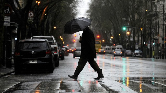 Miércoles y viernes, con lluvia.