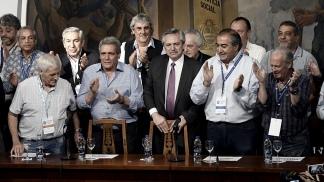Fernández almorzará en Casa Rosada con la cúpula de la CGT, Periódico San Juan