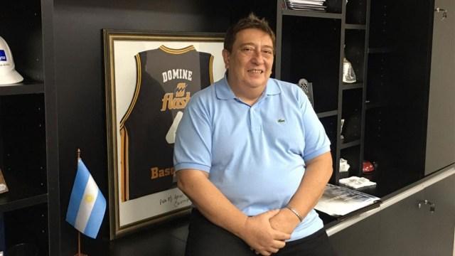 Fabián Borro, titular de la Confederación Argentina de Básquet valoró el crecimiento de Basquetpass.tv. Foto: archivo Télam