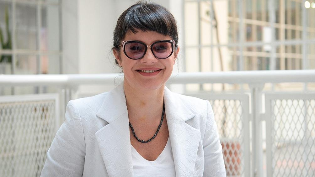 Gisella Marziotta secunda a Santoro.