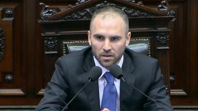 El ministro estuvo en el Congreso en febrero para informar sobre las negociaciones por la deuda.