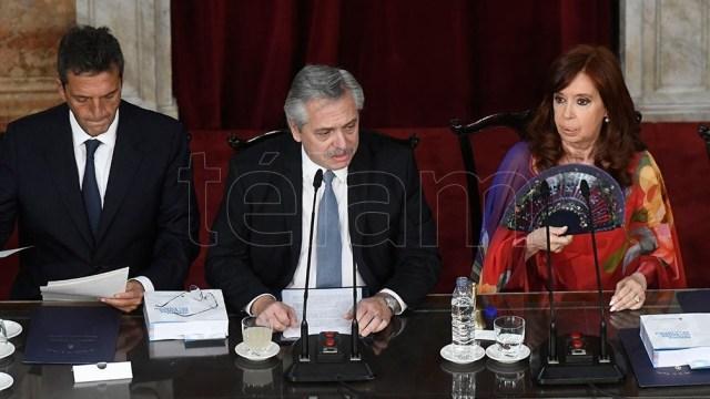 Alberto Fernández había anunciado la investigación en la apertura de sesiones del Congreso.