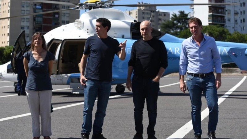 Larreta y De Pedro supervisaron operativos de seguridad conjuntos durante la pandemia.