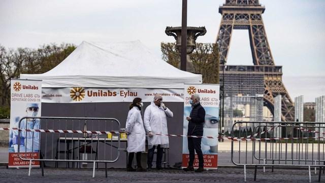 Francia esta en el pero momento de la pandemia.