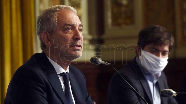 Ministro de Justicia y Derechos Humanos provincial, Julio Alak,