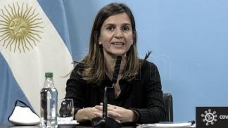 Fernanda Raverta, titular de la ANSES.