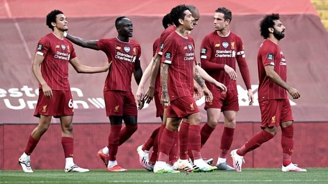 Liverpool igualó ante Everton, en un duelo vibrante (foto archivo)